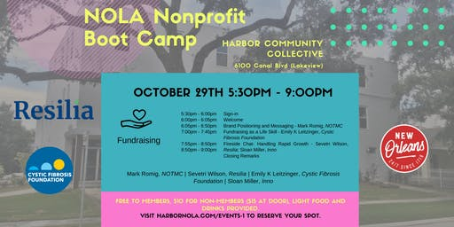 NOLA Nonprofit Bootcamp Day 2- Fundraising