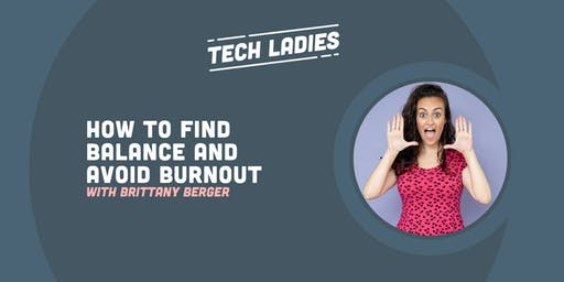 *Webinar* How to Find Balance and Avoid Burnout