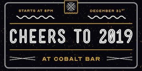 New Year's Eve @ Cobalt Bar! tickets
