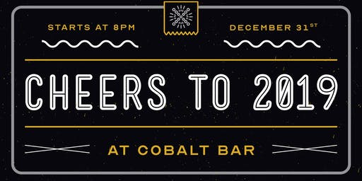 New Year's Eve @ Cobalt Bar!