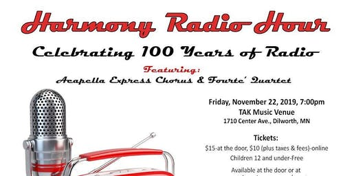 Harmony Radio Hour at TAK Music Venue