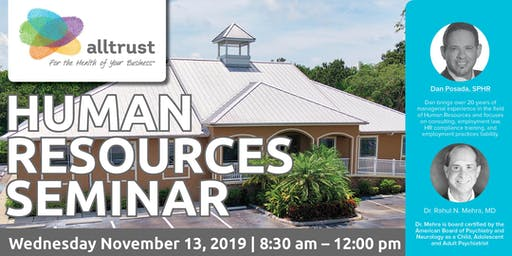 Alltrust  Insurance  November Human Resources Seminar