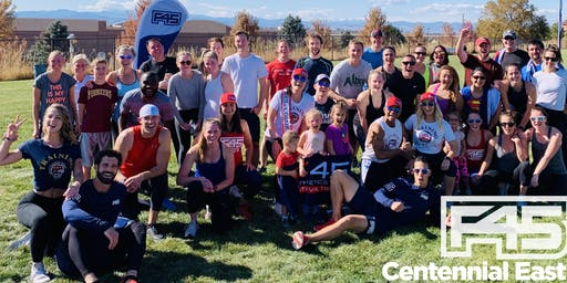 F45 Training Centennial East Outdoor Boot Camp - SATURDAY!