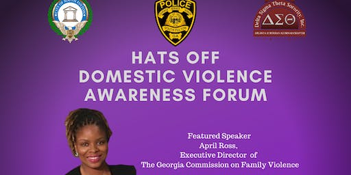 Hats Off: Domestic Violence Awareness Forum