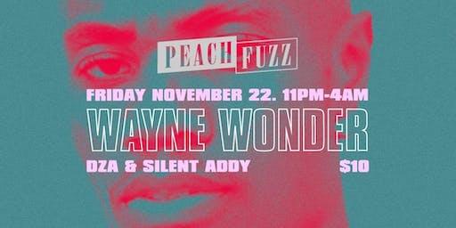 Wayne Wonder at The Ground - Peachfuzz Kick-Off Party