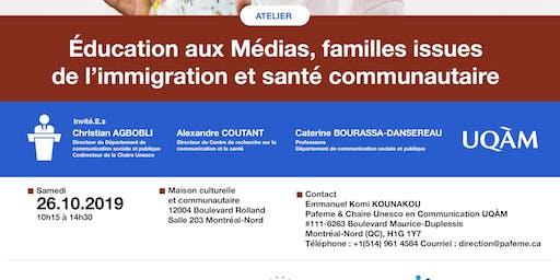 Première édition de sensibilisation aux médias - Unesco à Montréal-Nord