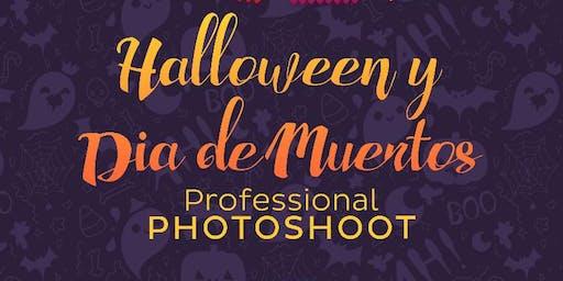 Photoshoot de Halloween y  Día de Muertos