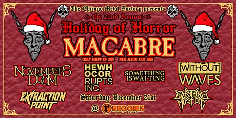 Holiday of Horror tickets