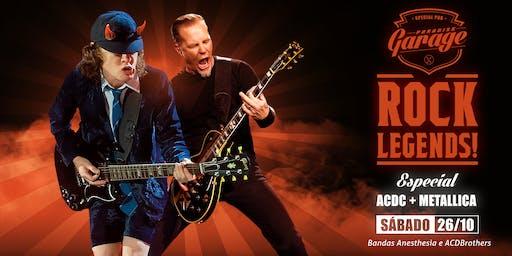 Rock Legends - Especial  AC/DC e Metálica