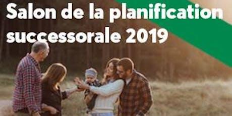 Salon de la planification successorale 2019 - 19 novembre - Hull tickets