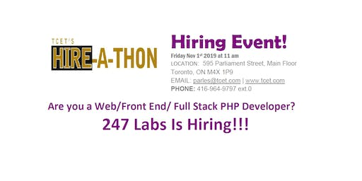 HIRING EVENT: 247 Labs