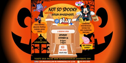 Not So Spooky @ Play Amusements