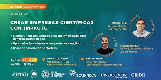 Crear empresas científicas con impacto
