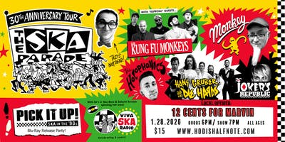 Ska Parade 30th Annv. Tour feat. Los Kung-fu Monkeys and many more!