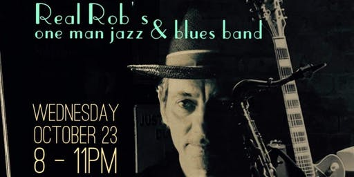 Real Rob's One Man Jazz & Blues Band