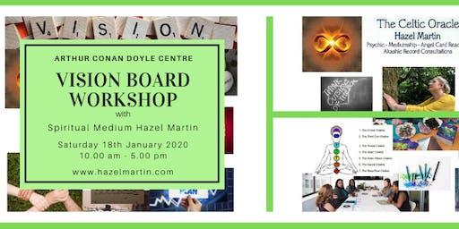 Vision Board Workshop with Spiritual Medium Hazel Martin