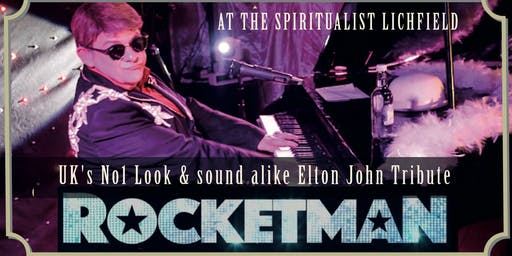 Rocket Man Elton John Tribute by Andy Crosbie - Charity Event for St Giles