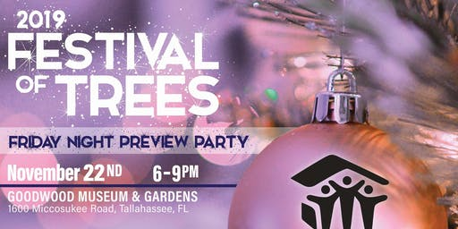 Habitat for Humanity Festival of Trees Preview Party 2019