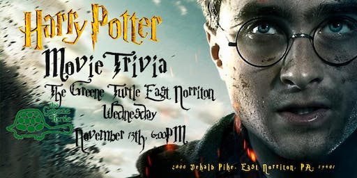 Harry Potter Movies Trivia at The Greene Turtle East Norriton