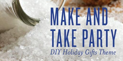 Holiday Essential Oil Make and Take