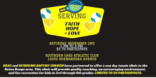 Serving Faith, Hope + Love