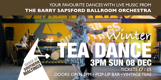 Winter Tea Dance with The Barry Sapsford Ballroom Orchestra