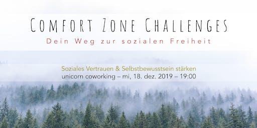 Comfort Zone Challenges // Soziales Vertrauen & Selbstbewusstsein stärken