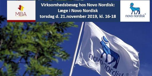 Virksomhedsbesøg hos Novo Nordisk: Læge i Novo Nordisk
