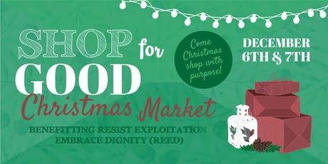 Shop for Good Christmas Market tickets
