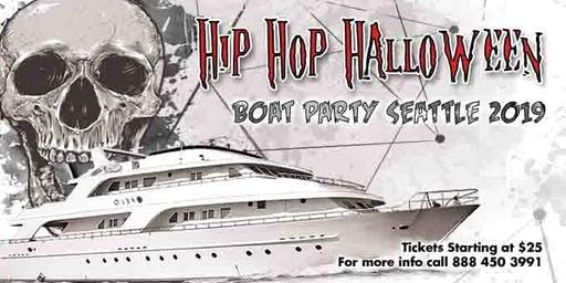 Hip Hop Halloween Boat Party Seattle 2019