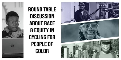 Round Table Discussion About Race & Equity in Cycling for People of Color