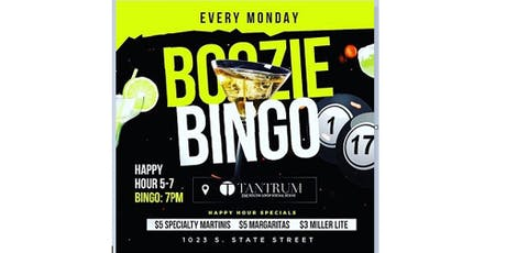 Monday's at Tantrum;  FREE Comedy FREE LAUGHS and Play Boozie Bingo to WIN some $$$ (starts at 7pm)(FREE NO COVER) Happy Hour (5-7pm) tickets