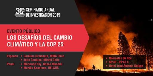 Los desafíos del cambio climático y la COP 25