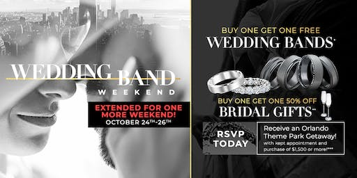 Wedding Band Weekend - Disney Vacay & Buy One, Get One Free (#BOGO)