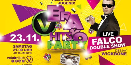 Bravo Hits Party - FALCO Double Show Tickets