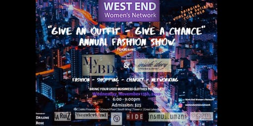 West-End Women's Network - Annual Fashion Show 2019