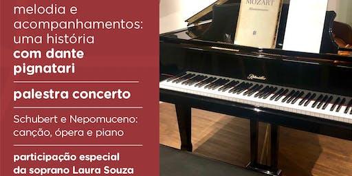 Palestra concerto, com Dante Pignatari e Laura Souza