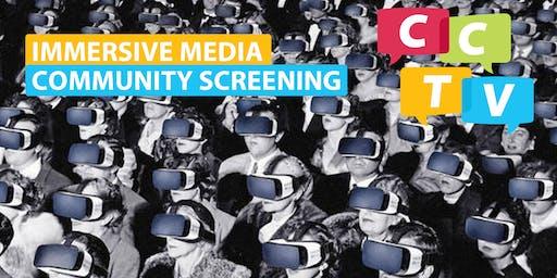 Immersive Media Community Screening
