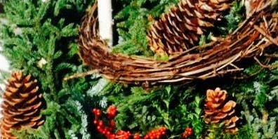 Spruce Tip Holiday Planter