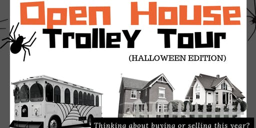 Open House Trolley Tour - Halloween Edition