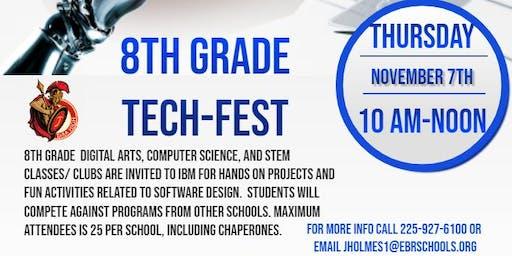 IBM and Tara High's CyTECH Magnet Academy Present: 8th Grade TECH Fest