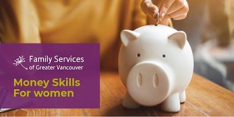 Money Skills for Women tickets