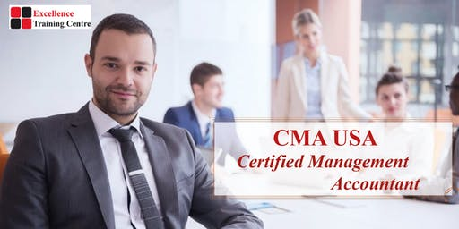 Become a CMA USA  (Certified Management Accountant)