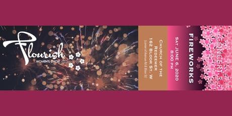 FLOURISH Women's Choir - Fireworks - Concert Three tickets