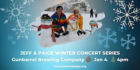 Jeff & Paige Winter Concert Series @ Gunbarrel Brewing Co. tickets