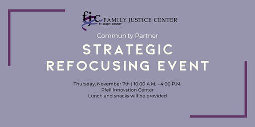 FJC Community Partners: Strategic Refocusing Event