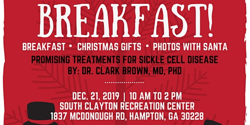 2019 Holiday Breakfast for Sickle Cell Families