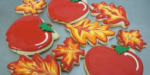 Fall cookie class with a free drink!