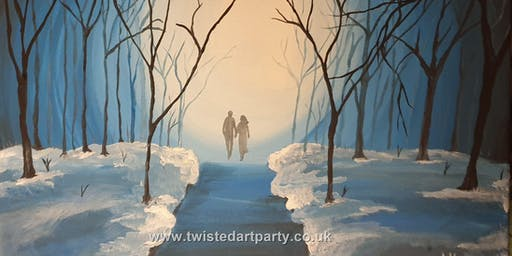 Winter Walk Painting Party