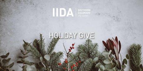 IIDA RMC SOCO | Holiday Give 2019 tickets